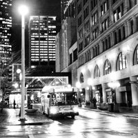 Photo taken at Nicollet Mall LRT Station by Kelly D. on 11/6/2012