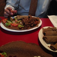 Photo taken at Abyssinia Ethiopian & Eritrean Restaurant by Emily T. on 4/8/2014