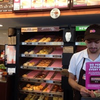 Photo taken at Dunkin' Donuts by Emily T. on 3/28/2014
