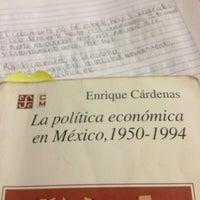 Photo taken at Biblioteca Antonio Enríquez Savignac by Stephanie U. on 1/16/2013