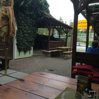 Photo taken at Restaurant Ve Dvorku by Kateryna D. on 8/25/2014