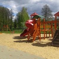 """Photo taken at Ķeguma bērnu Rotaļu Laukumiņš """"Sauļuks"""" by Marija B. on 5/5/2014"""