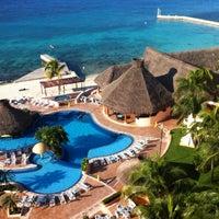Photo taken at El Cozumeleño Beach Resort by Meghan S. on 12/15/2012
