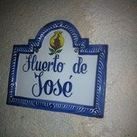 Photo taken at El Huerto de José by Jose Antonio D. on 7/31/2013