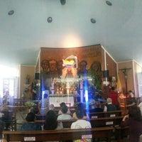 Photo taken at Iglesia Maria Auxiladora by Jose P. on 4/18/2014