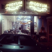 Photo taken at podyum hair club by Hªyri D. on 9/22/2014