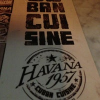 Photo taken at Havana 1957 Cuban Cuisine Lincoln Road by Charlie305 S. on 7/25/2013