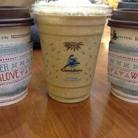 Photo taken at Caribou Coffee by Angelica on 11/10/2013