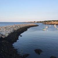 Photo taken at Rockport Harbor by Jeff Z. on 7/20/2016
