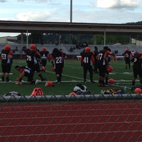 Photo taken at Sunset Stadium by Shawn P. on 5/18/2014
