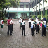 Photo taken at SMP Negeri 11 Bandung by PMR M. on 12/14/2013