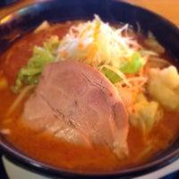 Photo taken at 麺屋あっぷる by soranokuzu on 6/22/2014
