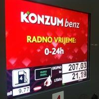 Photo taken at Konzum Benz by Ivan K. on 12/6/2012