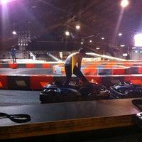 Photo taken at Yeti Karting by Steffi D. on 9/12/2014