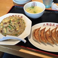 Photo taken at 大阪王将 松江黒田店 by harahito on 6/10/2015