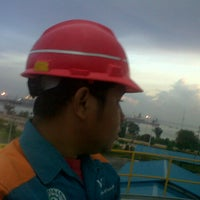 Photo taken at PT.Wilmar Chemical Indonesia by Dian A. on 11/5/2013
