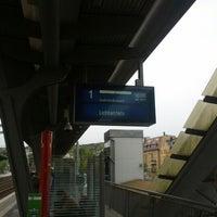Das Foto wurde bei Bahnhof Jena Paradies von Michael B. am 10/14/2012 aufgenommen