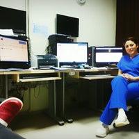 Photo taken at Celal Bayar Üniversitesi Hafsa Sultan Hastanesi Nöroloji Servisi by Gözde K. on 2/9/2015