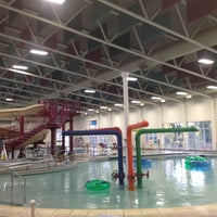 Photo taken at Dallas Aquatic Center by Alec on 11/20/2012