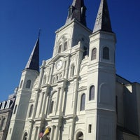 Photo taken at St. Louis Cathedral by Shelby S. on 12/3/2012