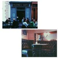 Photo taken at Kleines Café by Blu C. on 5/9/2015