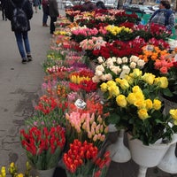Photo taken at Plac Wilsona by Nałęcz on 3/7/2014
