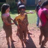 Photo taken at Centro Educativo Hermann Gmeiner Aldea de niños  SOS by Eli C. on 7/15/2014