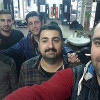 Photo taken at suleyman kuafor guzellik salonu by Ali Ferhat A. on 3/5/2015