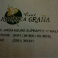 Photo taken at Hotel Kartika Graha by Jelly D. on 5/17/2015