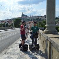 Photo taken at Euro Segway Prague by Euro Segway Prague on 9/24/2013