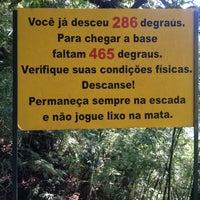 Photo taken at Escada da Perna Bamba by Flávio S. on 4/27/2013