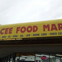 Photo taken at Ocee Food Mart by Jay A. on 10/18/2013