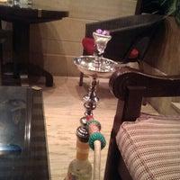 Photo taken at Al Bindaira Café by Mohannad A. on 8/13/2013