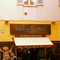 Photo taken at Gelateria Del Porto by Theodor A. on 4/22/2017