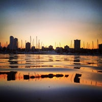 Photo taken at Milwaukee Community Sailing Center by Courtney on 10/7/2013