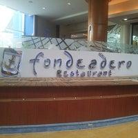 Photo taken at Fondeadero Restaurant by Jose M. on 5/15/2014
