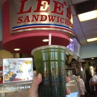 Photo taken at Lee's Sandwiches by Daynah on 8/8/2013