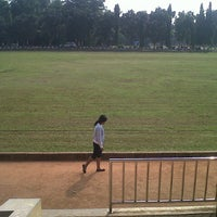 Photo taken at Stadion labda prakasa nirwakara by Mila Karmila on 6/4/2014