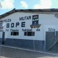 Photo taken at BOPE - Batalhão de Operações Policiais Especias by Robson M. on 12/2/2013