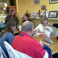 Photo taken at The Whistle Stop Ice Cream & More by Alicia A. on 4/7/2014