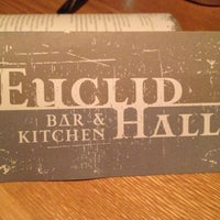 Photo taken at Euclid Hall Bar & Kitchen by shachar h. on 10/14/2012