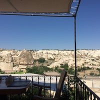 Photo taken at Sos Cave Hotel by Nergis K. on 7/23/2017