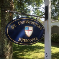 Photo taken at St. Christopher's Episcopal Church by Christopher V. on 8/17/2013