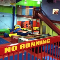 Photo taken at Gwinnett gymnastics center by Emily D. on 9/2/2014