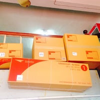 Photo taken at Bueng Thonglang Post Office by Frankkissme on 8/15/2014