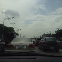 Photo taken at Kaset-Sena Nikhom Intersection by Frankkissme on 6/21/2014