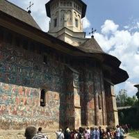 Photo taken at Biserica Mânăstirii Moldovița by oyabibin on 7/26/2016