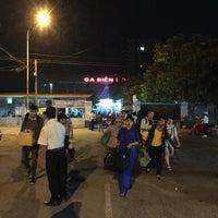 Photo taken at Ga Biên Hòa (Bien Hoa Station) by oyabibin on 3/22/2016