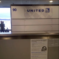 Photo taken at Gate 90 by Tom C. on 11/20/2012