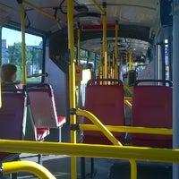 Photo taken at Donovalská (bus) by Sebastian P. on 6/9/2014